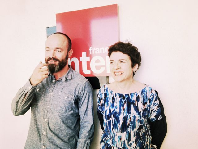 Cédric gerbehaye et Brigitte Patient