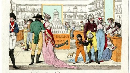 Les produits exotiques XVII-XVIIIe siècle