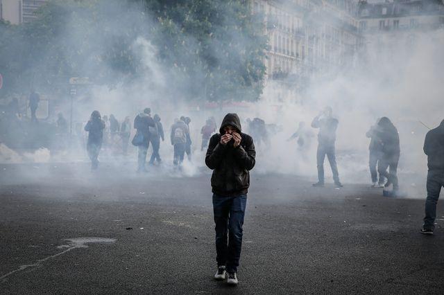 Affrontements jeudi à Paris lors de la loi Travail