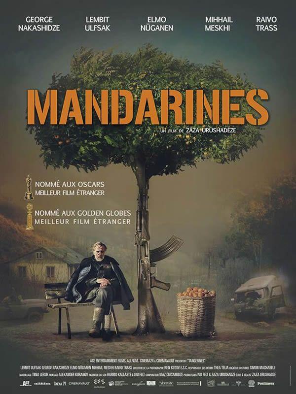affiche  film Mandarines