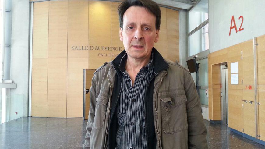 Philippe Izquierdo au palais de justice de Toulouse