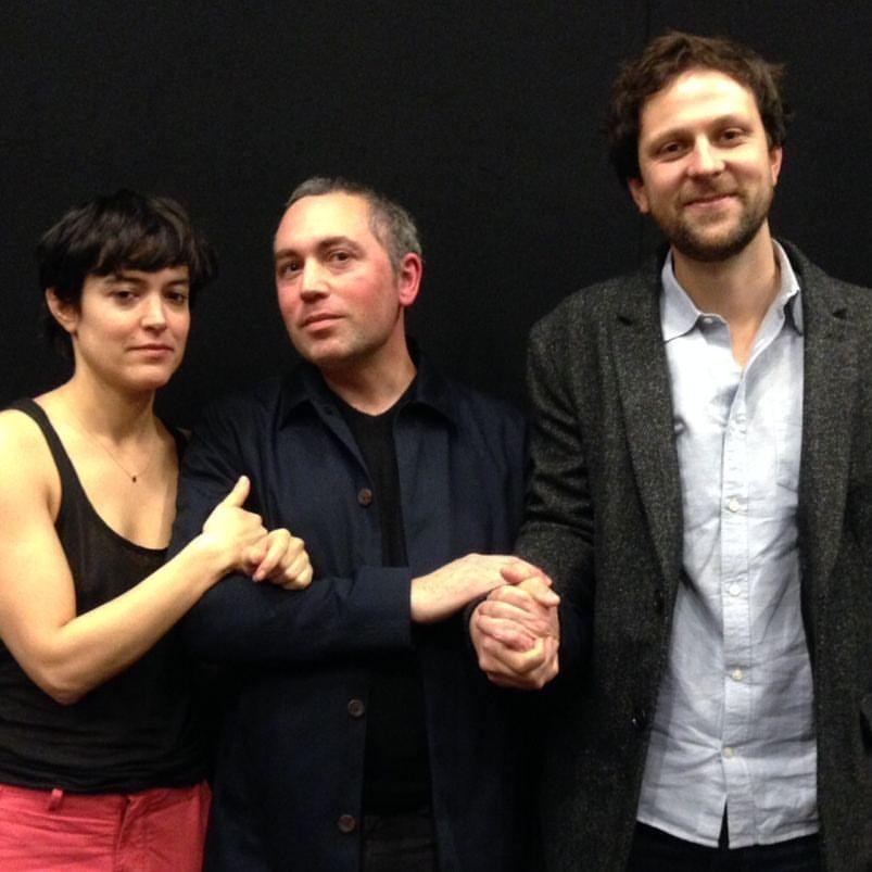 Vimala Pons, Sébastien Betbeder et Pierre Rochefort