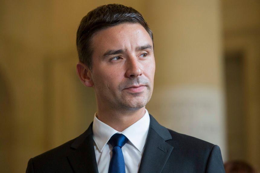 Laurent Grandguillaume, député socialiste de Côte d'Or
