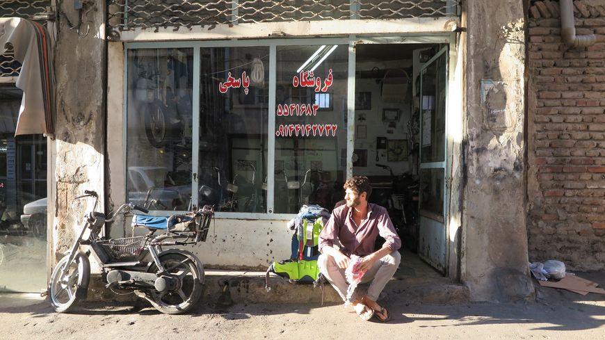 Renaud Marquot en Iran