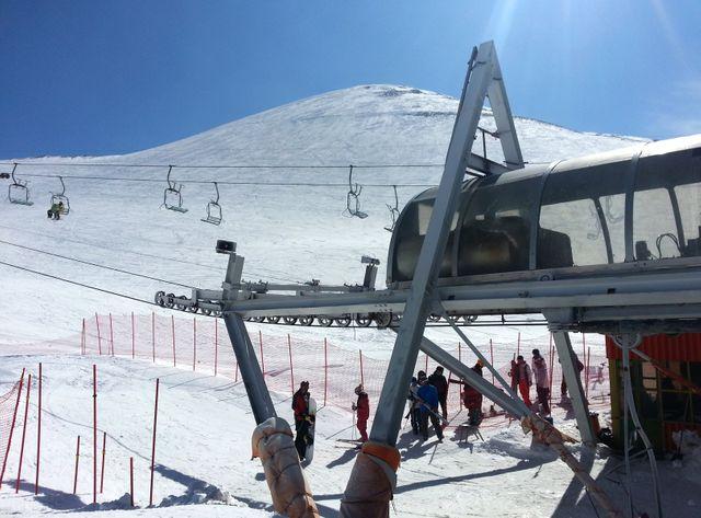 Tochal, la station de ski de Téhéran