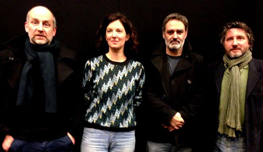 Blutch, Stéphanie Cléau, Philippe Dupuy et Bruno Podalydes