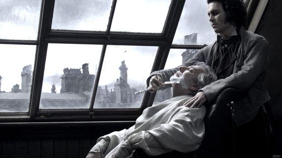 Image tirée du film de Tim Burton avec Johnny Depp ©AlphaPress/Maxppp