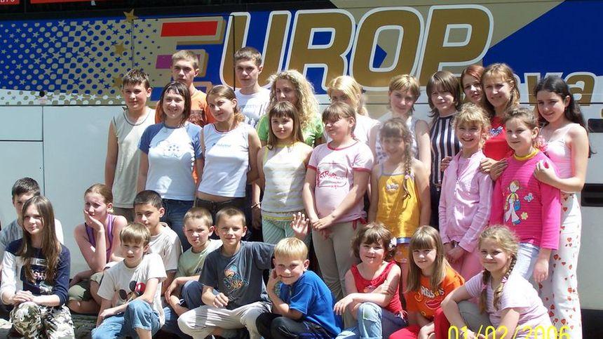 Des Russes et Biélorusses en voyage en Limousin (2006)