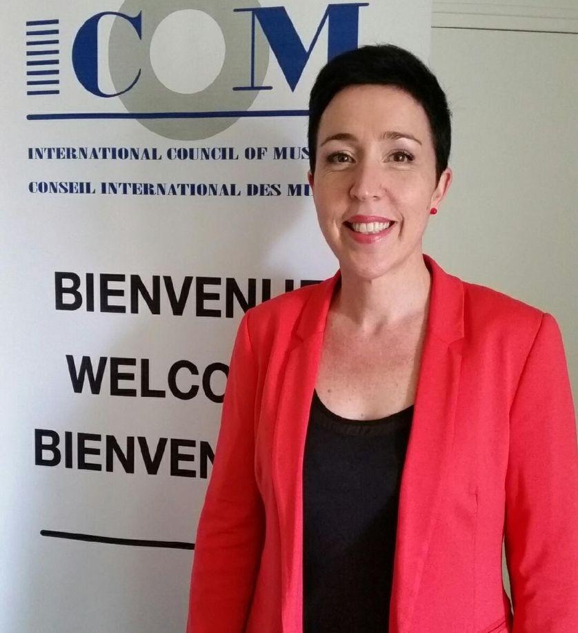 France Desmarais, directrice des programmes et des partenariats de l'ICOM