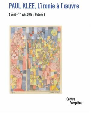 """Paul Klee, L'ironie à l'oeuvre"""