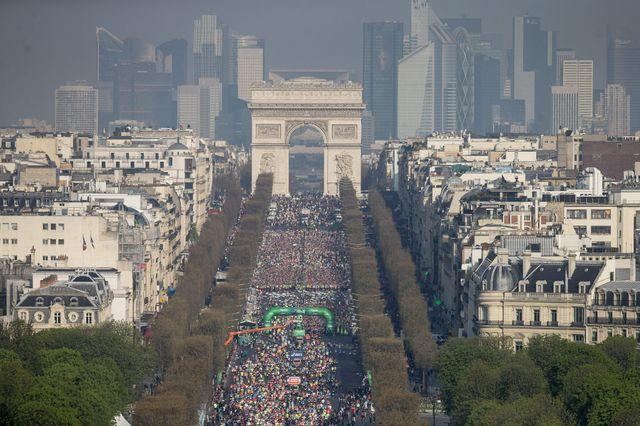 Marathon de Paris, 2015