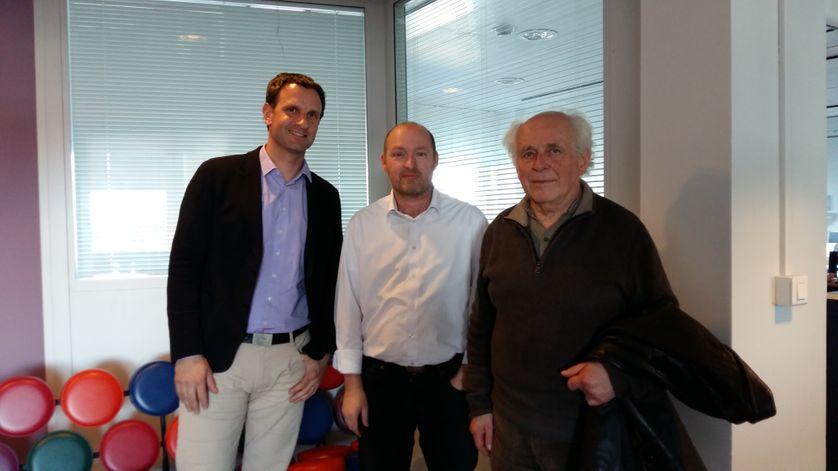 Nicolas Doucerain, Stéphane Guyot, Daniel Blanchard