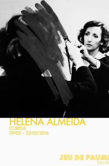 Helena almeida affiche jeu de Paume