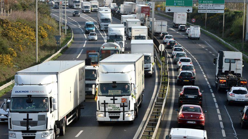 100.000 véhicules empruntent le périphérique nantais chaque jour.