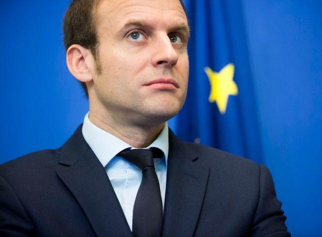 Emmanuel Macron lors de la présentation de la nouvelle campagne contre les disriminations à l'embauche