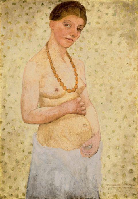Oeuvre de Paula Modersohn-Becker-Exposition au Musée d'Art Moderne