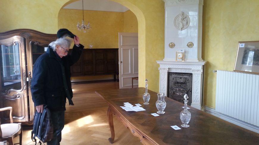 La salle à manger des sous-préfets de Boulay-Moselle.