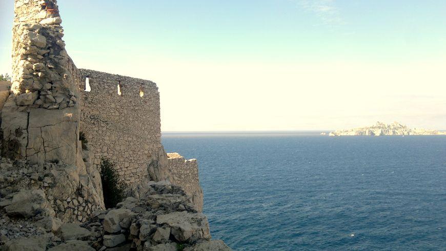 Le fortin du Renard au Cap Morgiou
