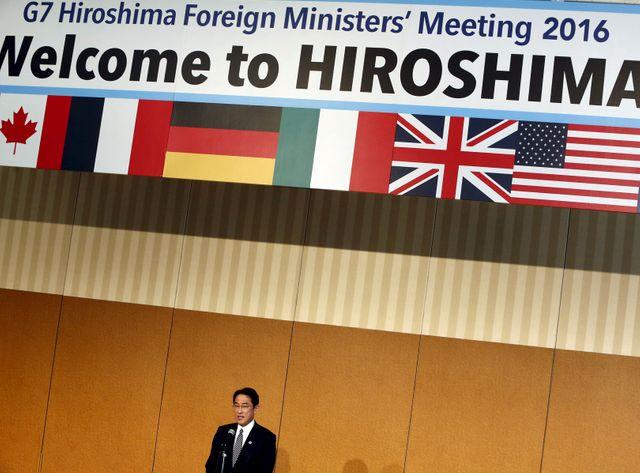 Visite historique de John Kerry à Hiroshima.