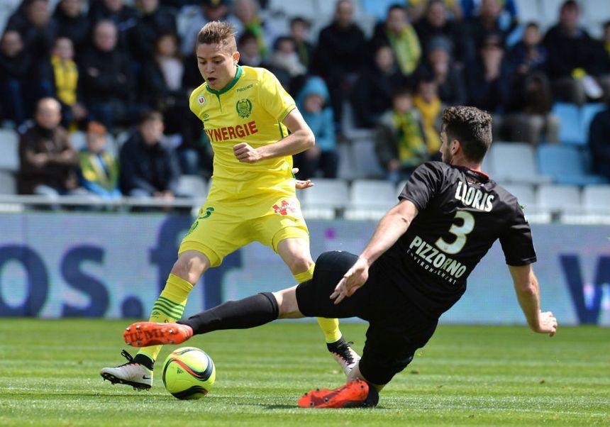Gautier Lloris (3) a vécu sa première titularisation de la saison avec Nice.