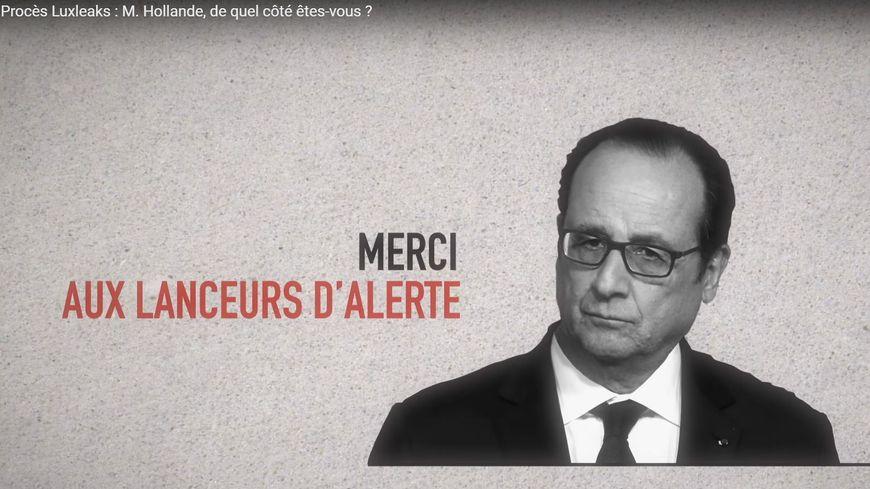Le collectif demande à François Hollande d'afficher son soutien