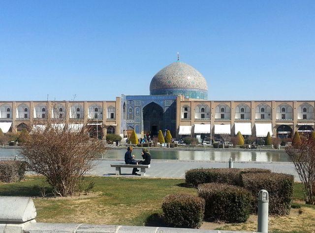 Ispahan, au sud de la capitale iranienne