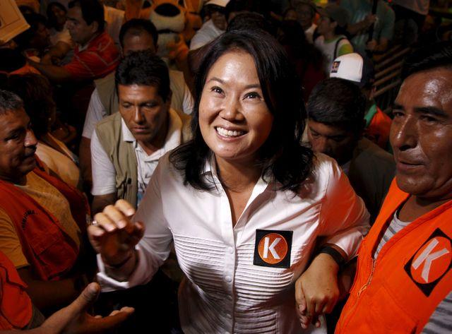 Depuis le début de la campagne, la fille Fujimori est donnée gagnante.