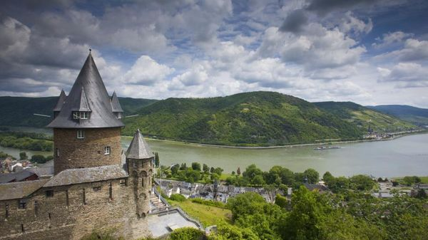 Chateau Stahleck sur le Rhin - Photo : R.Gerth/Corbis