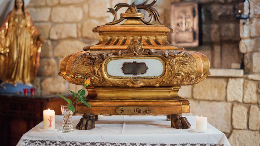 Les reliques de Saint Gilles