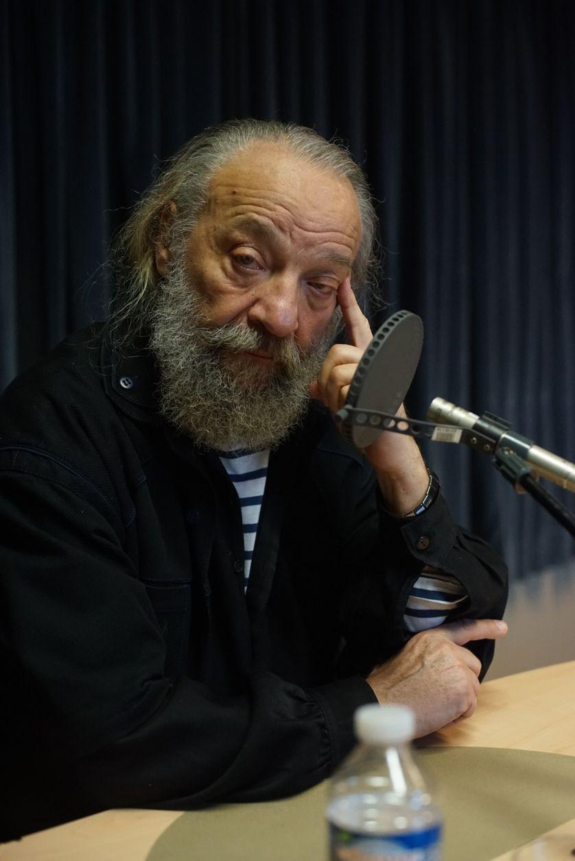 Anatoli Vassiliev au studio 131 de la Maison de la radio