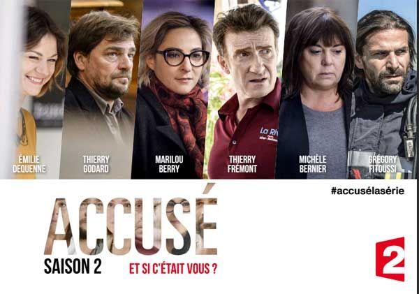 """Affiche """"Accusé"""" Saison 2 France 2"""