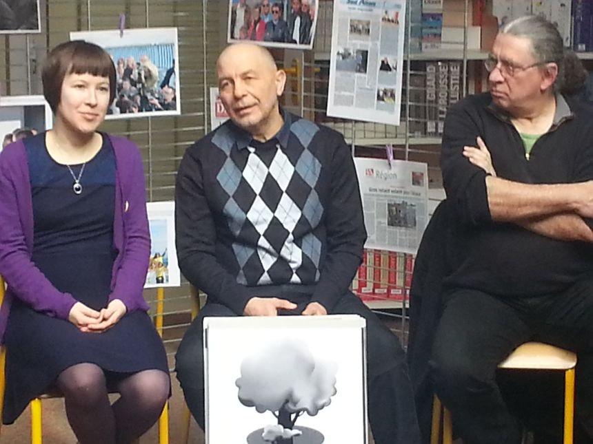 Oleg Veklenko s'est exprimé devant les élèves du lycée Deck de Guebwiller
