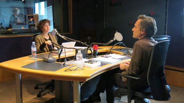 Sur le vif ! France Musique, studio 142... Karine Le Bail & Philippe Venturini ©Annick Haumier-Radio France