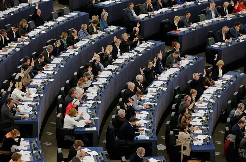 Des élus au Parlement européen