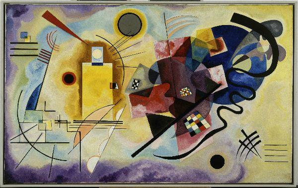 Vassily Kandinsky, Jaune-rouge-bleu, 1925