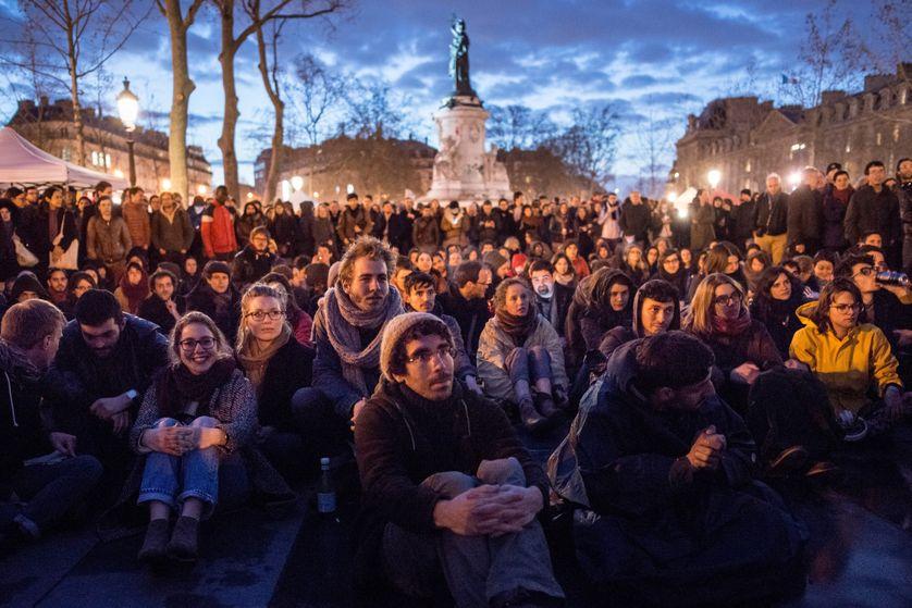 Place de la République à Paris (06/04/2016)