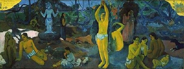 Paul Gauguin, D'où venons-nous ? Qui sommes-nous ? Où allons-nous ? (1897/98)