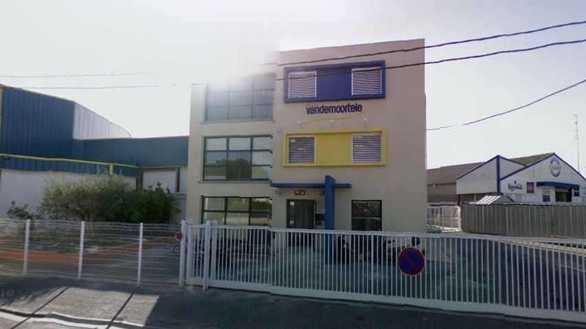 L'usine Panavi du groupe Van de Morteele. Capture d'écran, google map