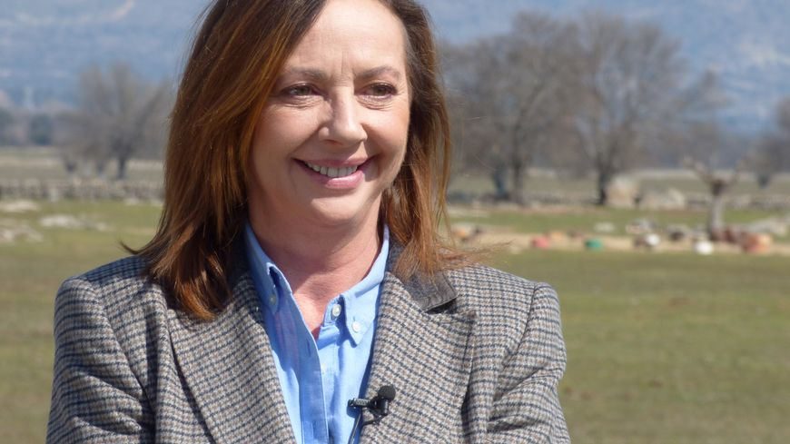 Cristina Moratiel, la ganadera de Baltasar Iban.