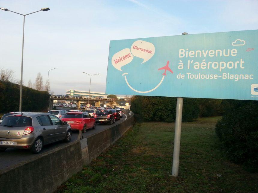 Déjà en janvier les taxis   avaient bloqués l'accès de l'aéroport