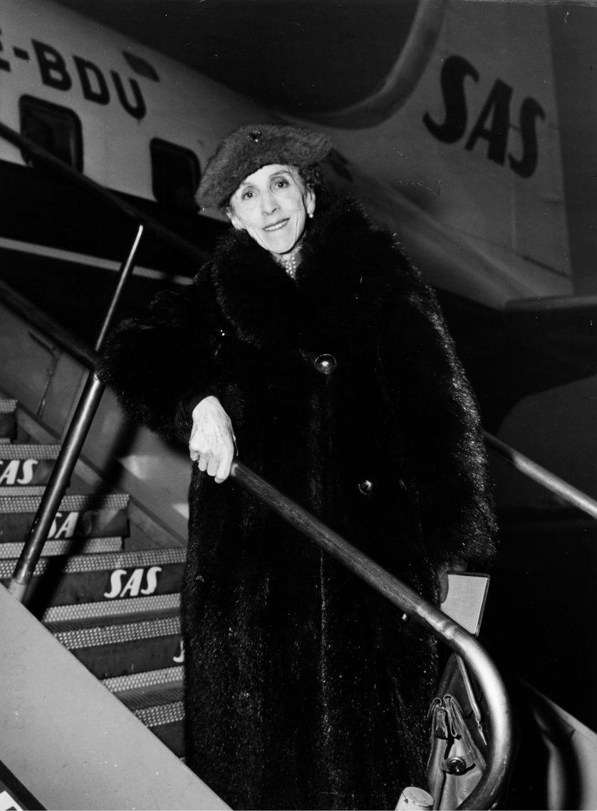 Karen Blixen le 2 novembre 1957