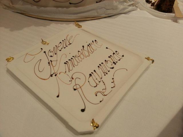 Raymonde Viret - Gâteau anniversaire
