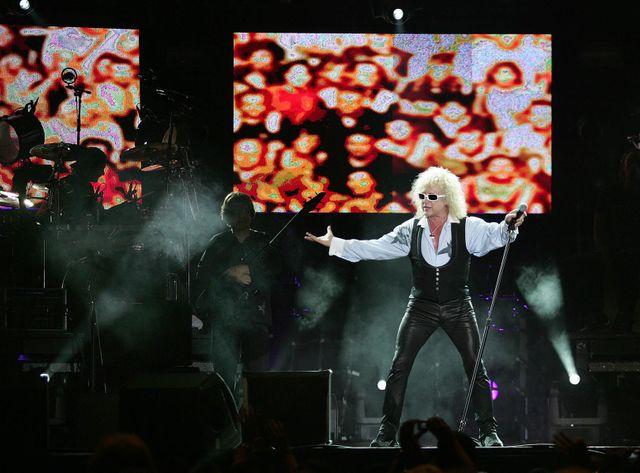 Michel Polnareff sur scène en 2007