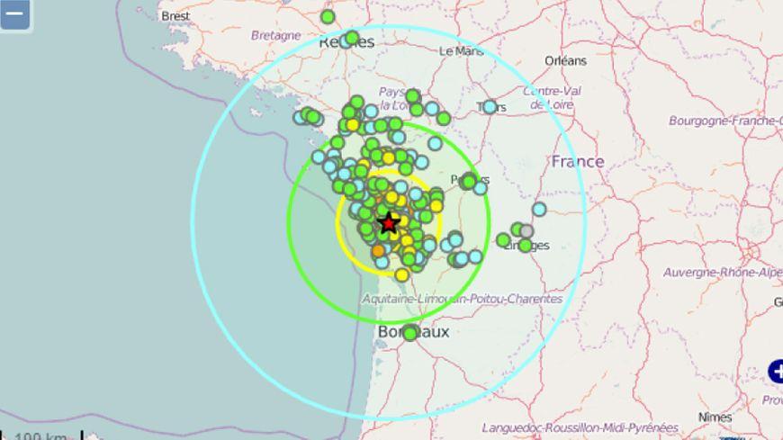 La terre a tremblé en Charente-Maritime