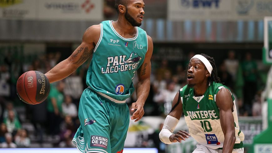 Lance Harris, MVP du match avec ses 25 points