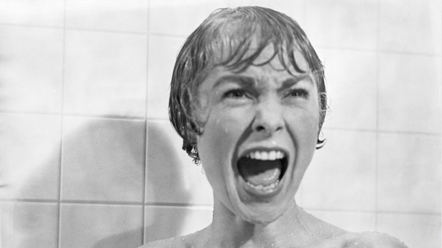 Janet Leigh dans Psychose