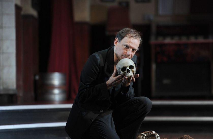 """""""La Tragedie d'Hamlet"""" avec Denis Podalydès, 2013"""