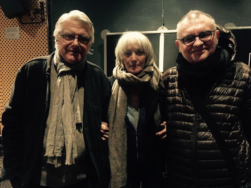 Georges Aperghis, Edith Scob et Philippe Minyana