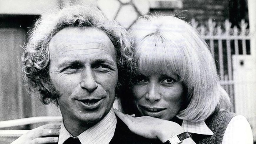 Mireille Darc et Pierre Richard © Maxppp