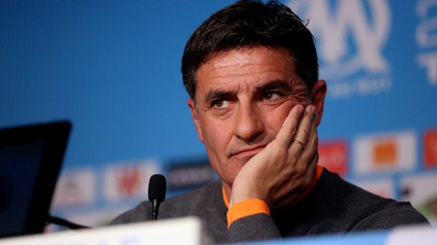 Michel, entraîneur de l'Olympique de Marseille